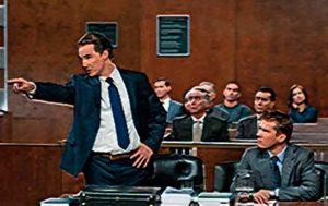 Адвокат выступает в суде